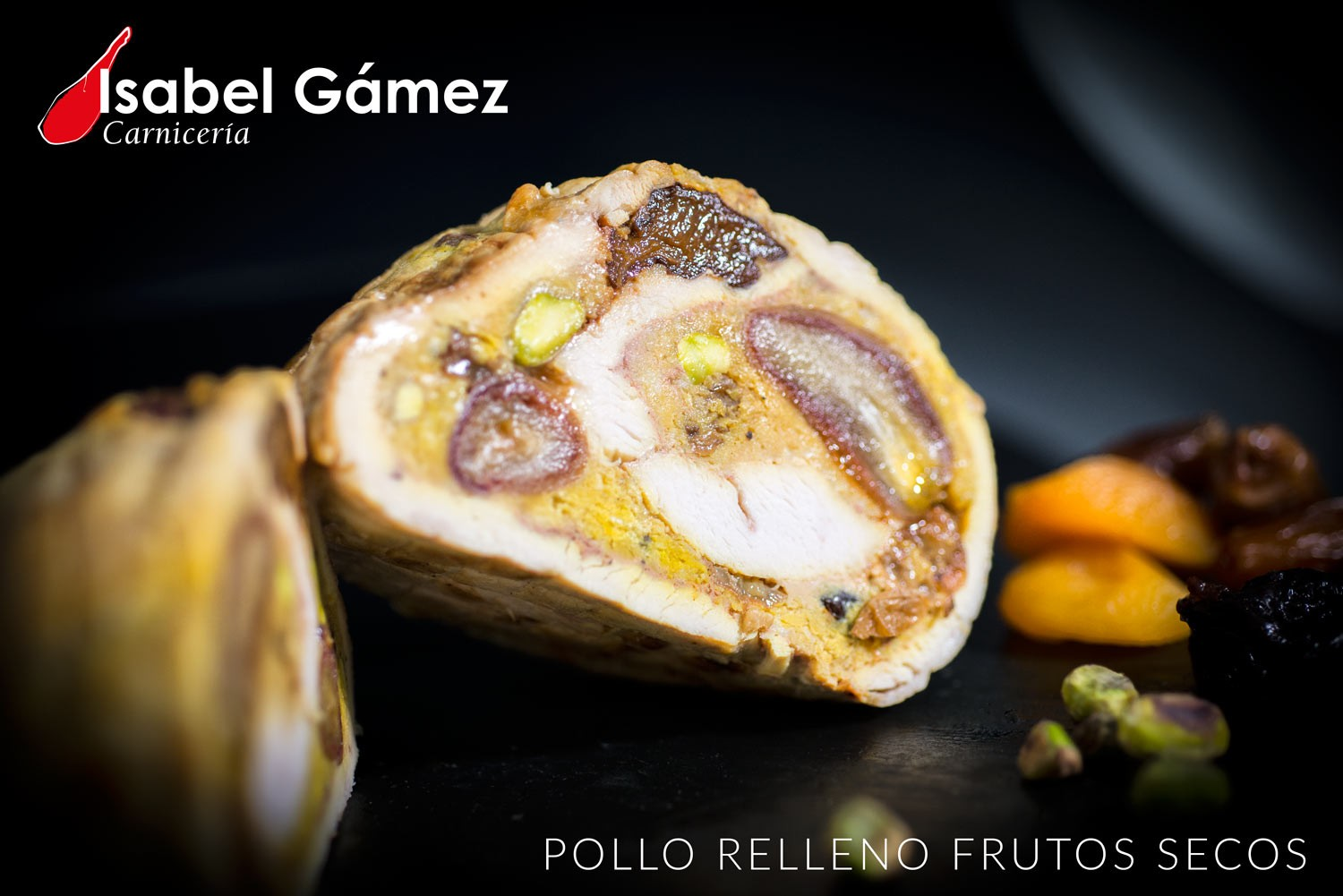 POLLO RELLENO FRUTOS SECOS