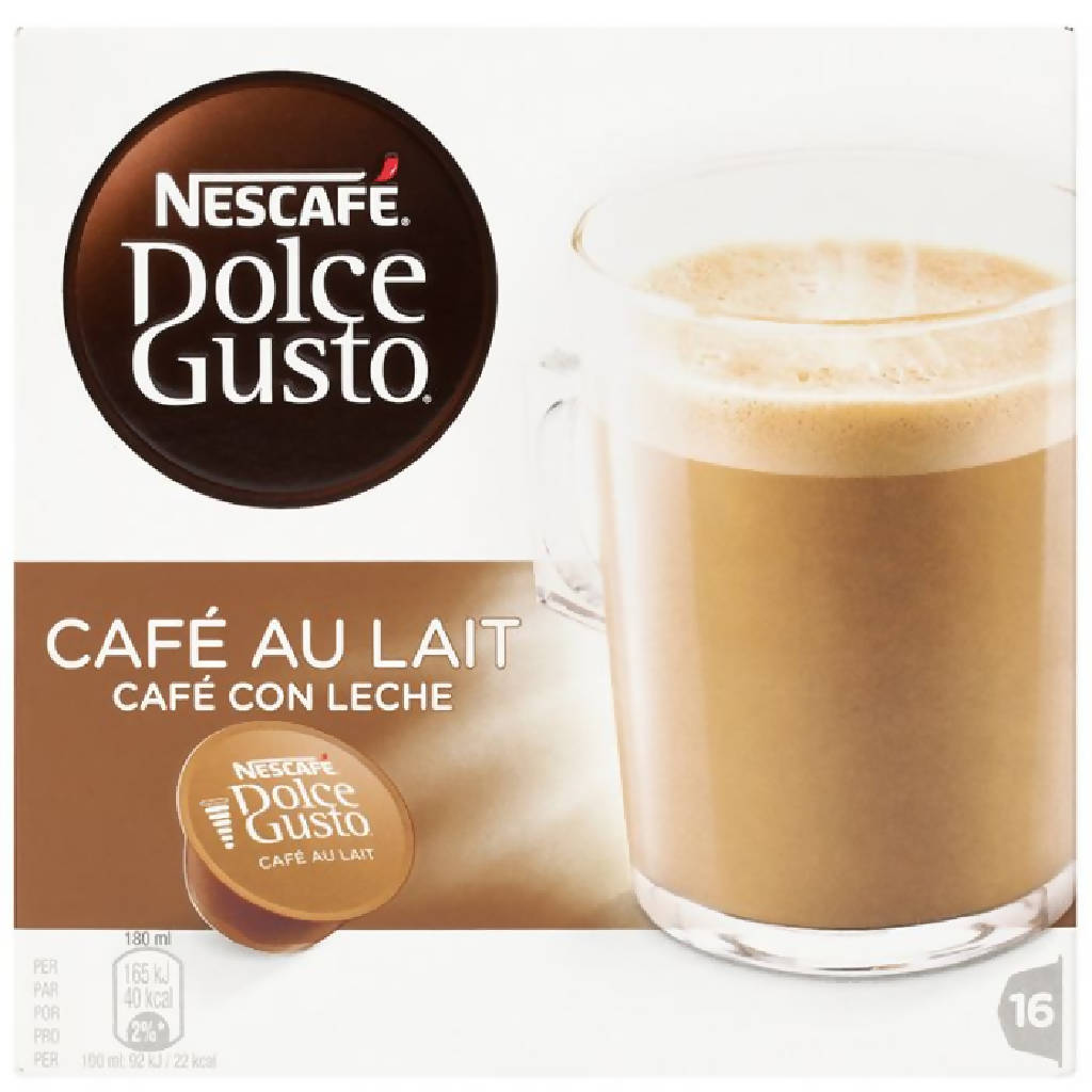DOLCE GUSTO CAFE LECHE