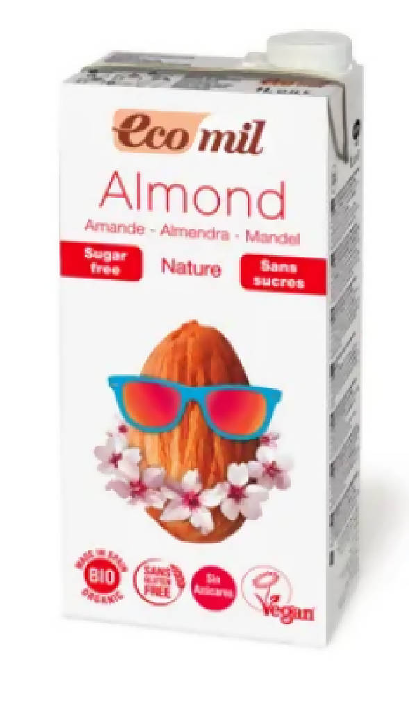 Ecomil Almond Nature 1L.