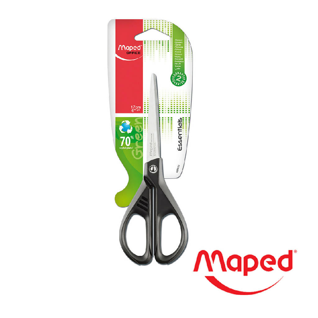 TIJERA MAPED ESSENTIALS GREEN 17CM