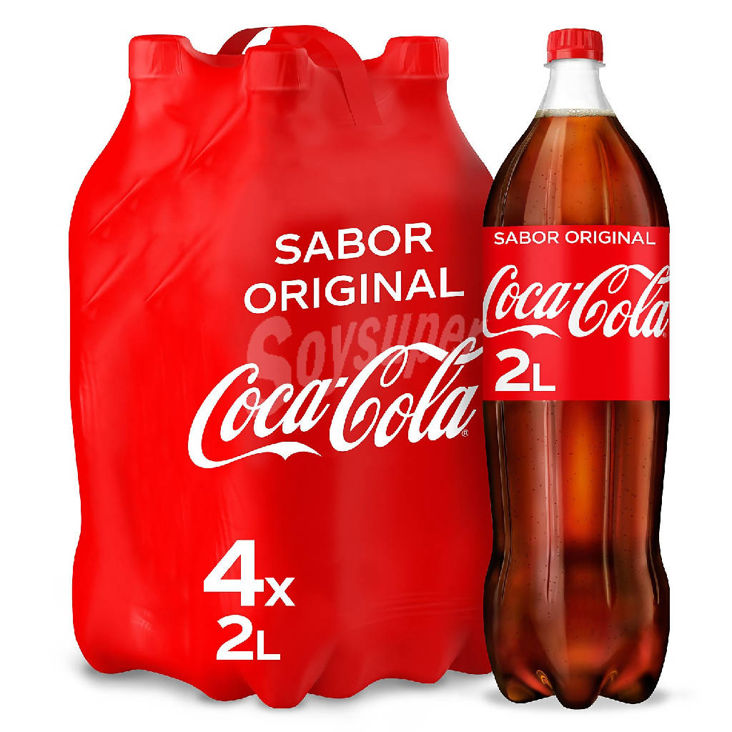 COCA COLA BOTELLIN PACK-4