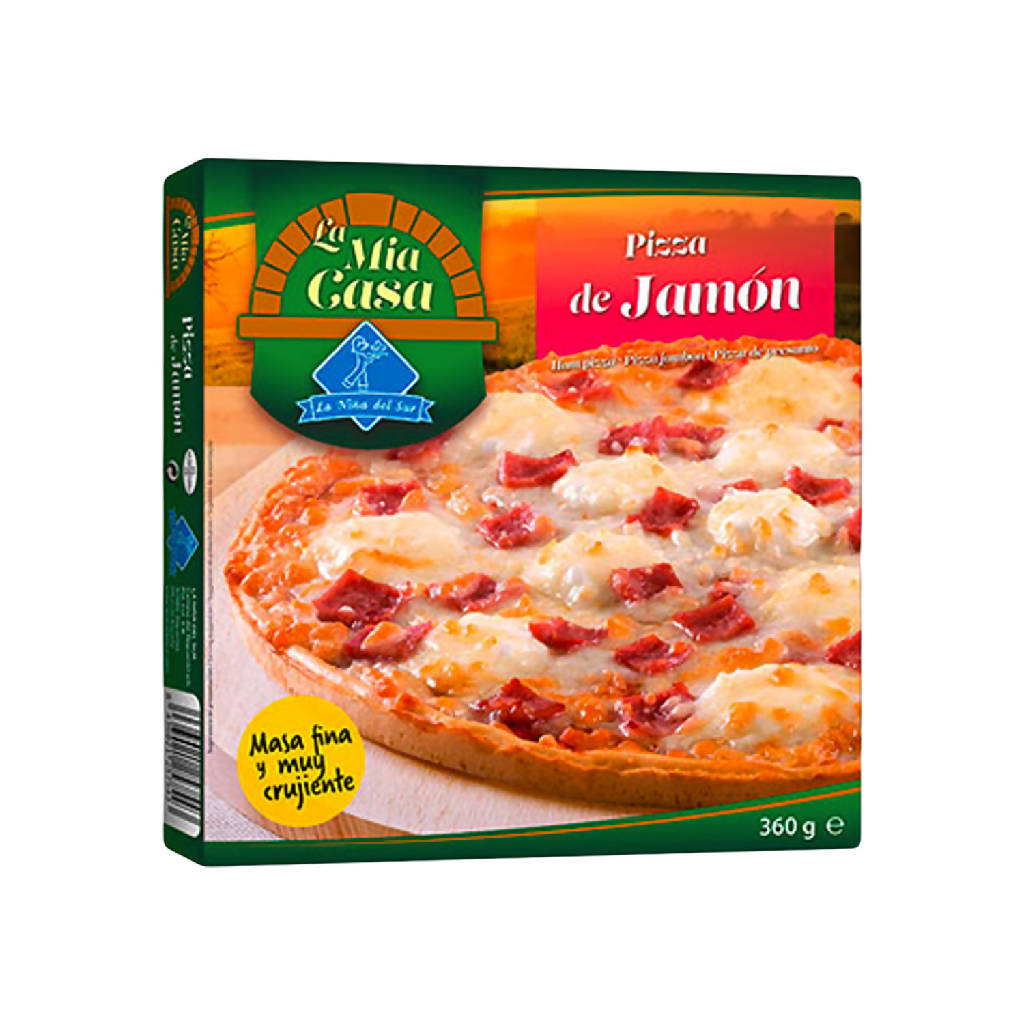 PIZZA JAMON MIA CASA 365G