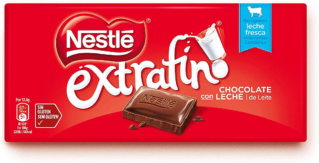 CHOCOLATE NESTLE LECHE 125GR