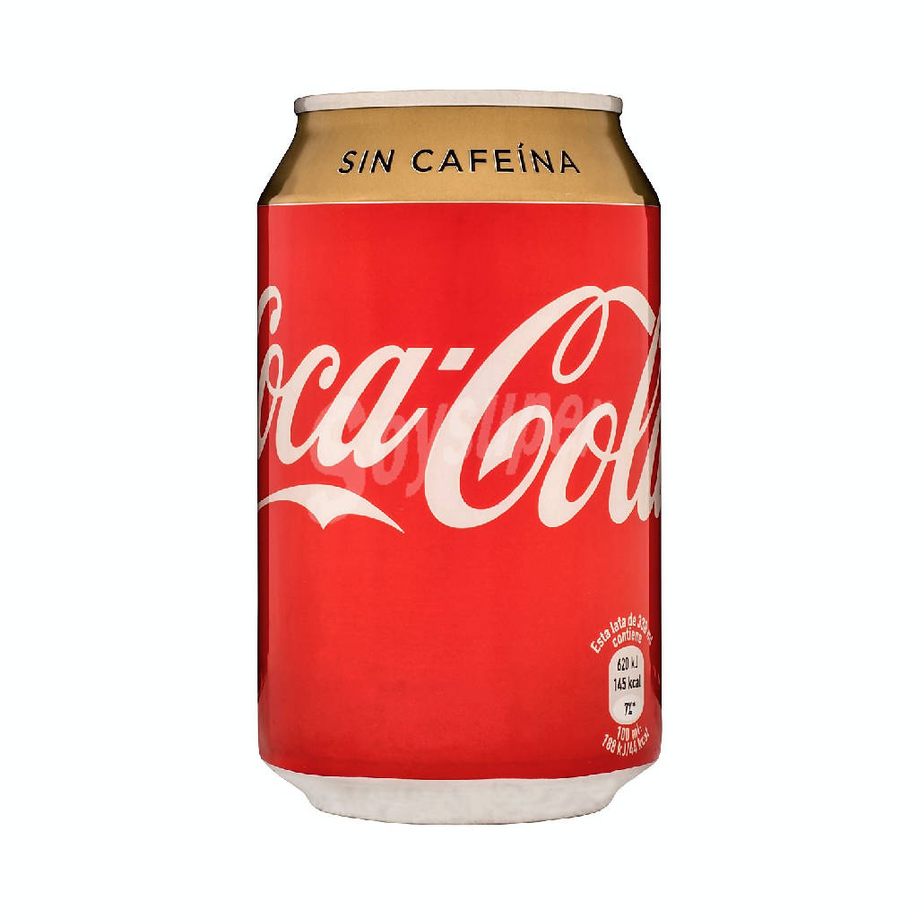 COCA COLA S/CAFE LATA 33CL