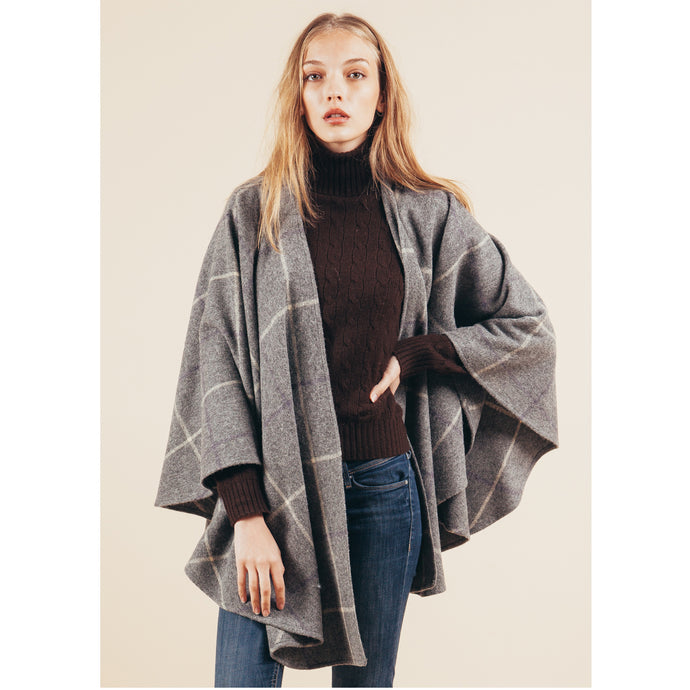 Wool Capes, Tweed Ponchos and Shawls |  Whats the difference?