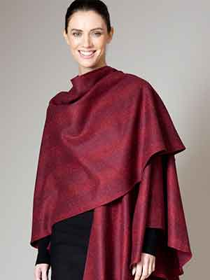 Wool capes made in Ireland