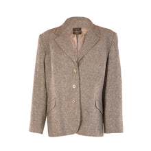 Load image into Gallery viewer, 3 Button Hacking Jacket - Fine Grey Salt & Pepper