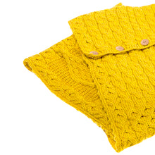 Load image into Gallery viewer, Aran Snood, Mustard