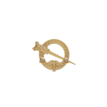 Load image into Gallery viewer, Tara Brooch, Rare Irish Gold