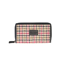 Load image into Gallery viewer, Billy Wallet, Multi Houndstooth