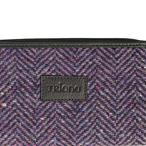 Billy Wallet, Purple Herringbone