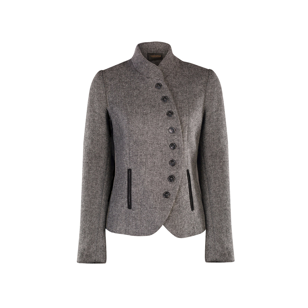 Catherine Jacket, Grey Twill