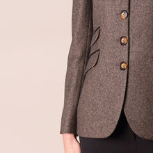 Load image into Gallery viewer, Catriona Jacket, Brown Herringbone