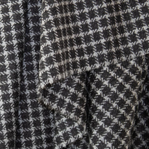 Charcoal Check Donegal Tweed Fabric