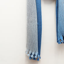 Load image into Gallery viewer, Cosmos Scarf, Blue Yonder