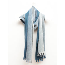 Load image into Gallery viewer, Cosmos Scarf, Winter Sky