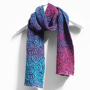 Circus Scarf, Hyancinth