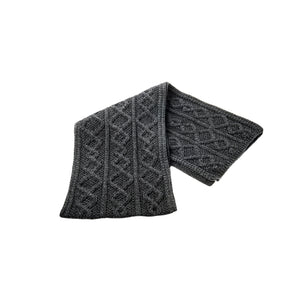 Diamond Scarf, Charcoal