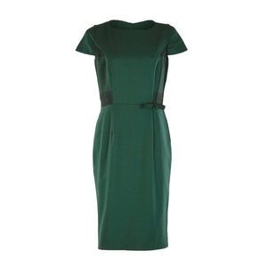 Tweed Dress - Green