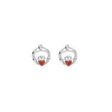 Load image into Gallery viewer, Birthstone Stud Earrings January