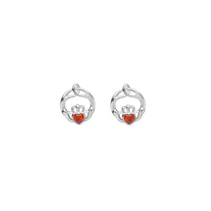 Birthstone Stud Earrings January