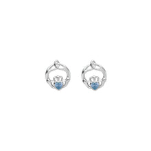 Load image into Gallery viewer, Birthstone Stud Earrings March