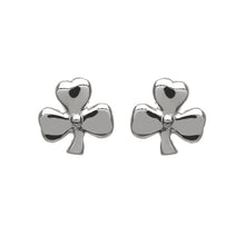 Load image into Gallery viewer, Small Shamrock Studs
