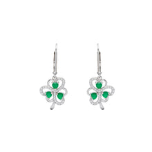 Load image into Gallery viewer, Shamrock Stud Earrings