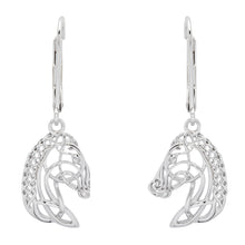 Load image into Gallery viewer, Horse Head Drop Earrings