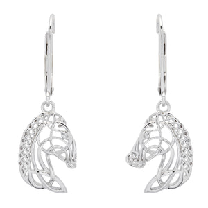 Horse Head Drop Earrings