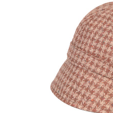 Load image into Gallery viewer, Donegal Tweed Flapper Cap, Brown Check