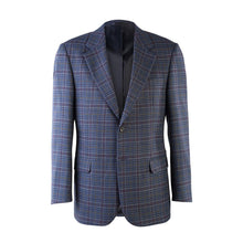 Load image into Gallery viewer, Donegal Tweed Jacket - Navy Check