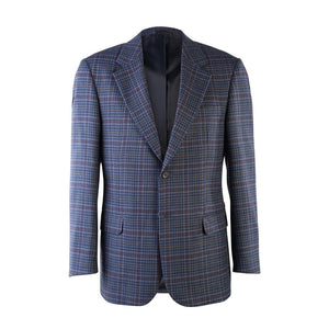 Donegal Tweed Jacket - Navy Check