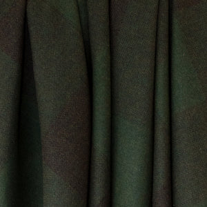 Green Check Donegal Tweed Fabric