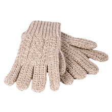 Load image into Gallery viewer, Oatmeal Wool Knit Gloves