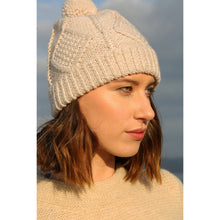 Load image into Gallery viewer, Handknit Hat, Oatmeal