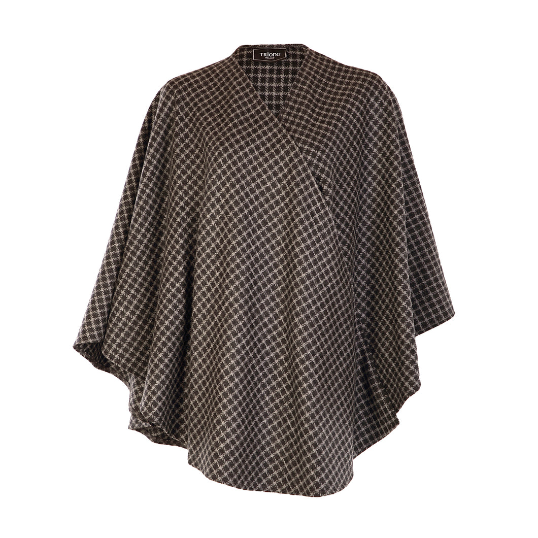 Holly Cape, Charcoal Check