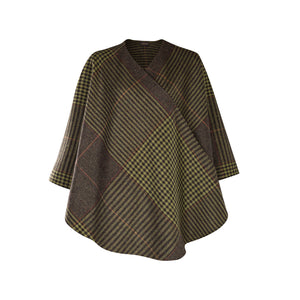 Holly Cape, Green Houndstooth