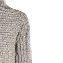 Load image into Gallery viewer, Horizontal Ribbed Two Button Knit, Grey Sky