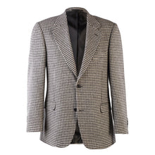 Load image into Gallery viewer, Donegal Tweed Jacket - Black & White Houndstooth