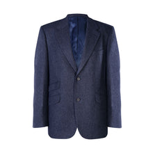 Load image into Gallery viewer, Jacket, Blue Herringbone