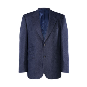 Jacket, Blue Herringbone