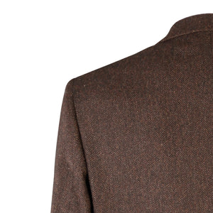 Jacket, Chocolate Herringbone