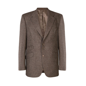 Jacket, Brown Salt & Pepper
