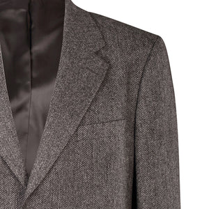 Jacket, Grey Herringbone