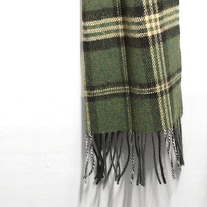 Lambswool Scarf, Green