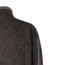 Load image into Gallery viewer, Lined Full Zip Neck Sweater, Charcoal