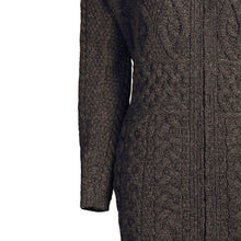 Load image into Gallery viewer, Long Waisted Cardigan, Charcoal