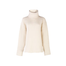 Load image into Gallery viewer, Luxury Polo Neck Sweater, Natural