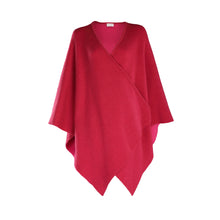 Load image into Gallery viewer, Luxury Wrap Cape, Raspberry